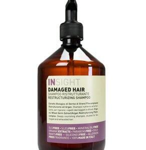 Шампунь Инсайт для востановления поврежденных волос на натуральных ингридиентах без парабенов и консервантов от лучших европейских производителей