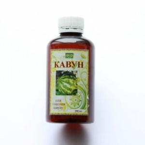 масло семян Арбуза для применения в фитотерапии при заболеваниях почек и мочевыводящих путей, отеках, в схемах снижения веса