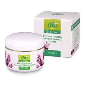 Крем ночной интенсивно питательный для активизации процесса клеточного обновления кожи во время вашего сна, для ее восстановления и укрепления