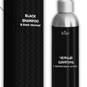 натуральный шампунь с древесным углем для улучшения состояния волос