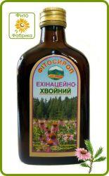 Фитосироп на основе лекарственных трав Эхинацейно-Хвойный , собранных в Карпатах.