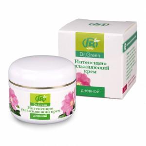 Крем дневной интенсивно увлажняющий для увлажнение кожи, крем восстанавливает ее упругость и эластичность, ускоряет процессы регенерации кожи