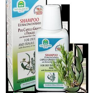натуральный итальянский шампунь для жирных волос с розмарином без парабенов