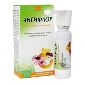 средство для ротовой полости и горла, при заболеваниях горла, ангины