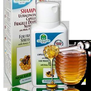 натуральный итальянский шампунь для ломких волос на основе меда, пропоиса, цветочной пыльцы без парабенов