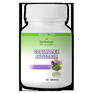 Спазмолек-Антиспазм - Природное средство профилактики сосудистых спазмов, коррекция спастических состояний сосудов и мышечного тонуса.