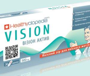 Визион для улучшение кровообращения сетчатки глаза, улучшение работы зрительного аппарата, профилактика катаракты.
