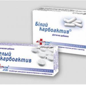 карбоактив как современный энтеросорбент при отравления, расстройствах, аллергии