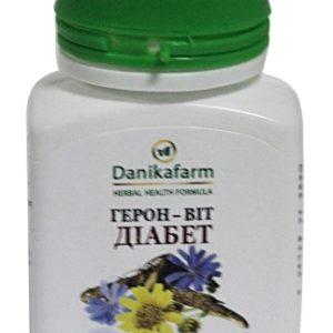 Герон-Вит Диабет для снижения риска колебаний сахара, для профилактики сахарного диабета, заболеваний поджелудочной железы и снижения массы тела