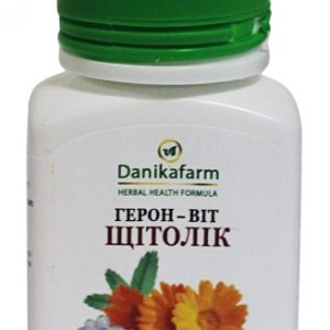Герон-Вит Щитолек для профилактики заболеваний щитовидной железы, при гипофункции щитовидной железы, аутоимунном тереоидите, диффузном узловом зобе
