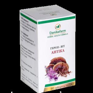 Герон-Вит Антика для поддержки антиоксидантной защиты организма, для снижения риска развития опухолей,