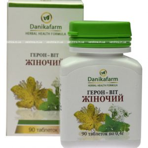 Геров-Вит Женский на основе цимицифугии для профилактики климактерических расстройств