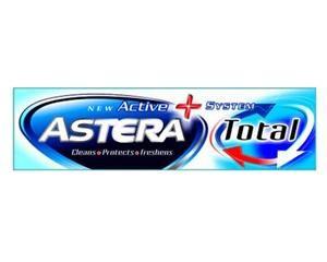 Тотал Astera c фтором и аллантоином, комплексный уход за полостью рта