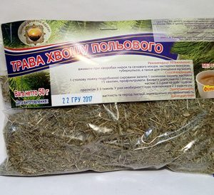 трава Хвощ полевой с сильным мочегонным и противовоспалительным действием, для улучшения роста волос