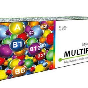 Мультифарм (мультивитаминный комплекс).оптимальное сочетание необходимых витаминов, экстрактов, биофлавоноидов, для оздоровления всех систем организма