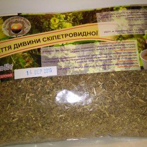трава коровяк (дивина) при заболеваниях дыхательных путей