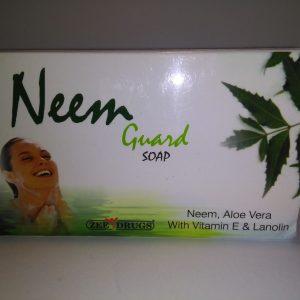 натуральное индийское мыло с экстрактом Ним, Алоэ Вера для сухой, чувствительной, раздраженной кожи
