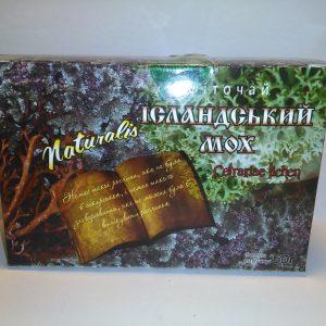 Трава Исландский мох для фитотерапии и поддержки организма при заболеваниях бронхов, желудка и упадка сил