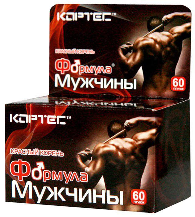 Формула мужчин (красный корень копеечник) при простатите, нормализации мужской мочеполовой системы, повышения потенции, имеет противоопухолевое дей-е