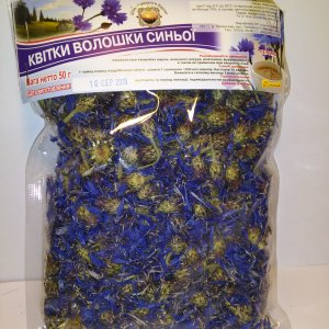 Трава цветы Василек синий ( квітки Волошка синя) для фитотерапии ячменя, промывании глаза при конъюктивите, улучшении желечевыводящих путей, в косметологии
