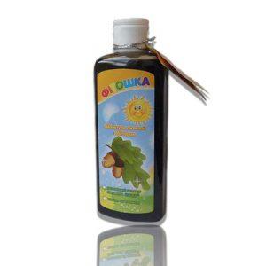 натуральный шампунь Фитошка на основе ТМ Фитор (экстракта дуба) для укрепления и роста волос, профилактика кожи головы при воспалении