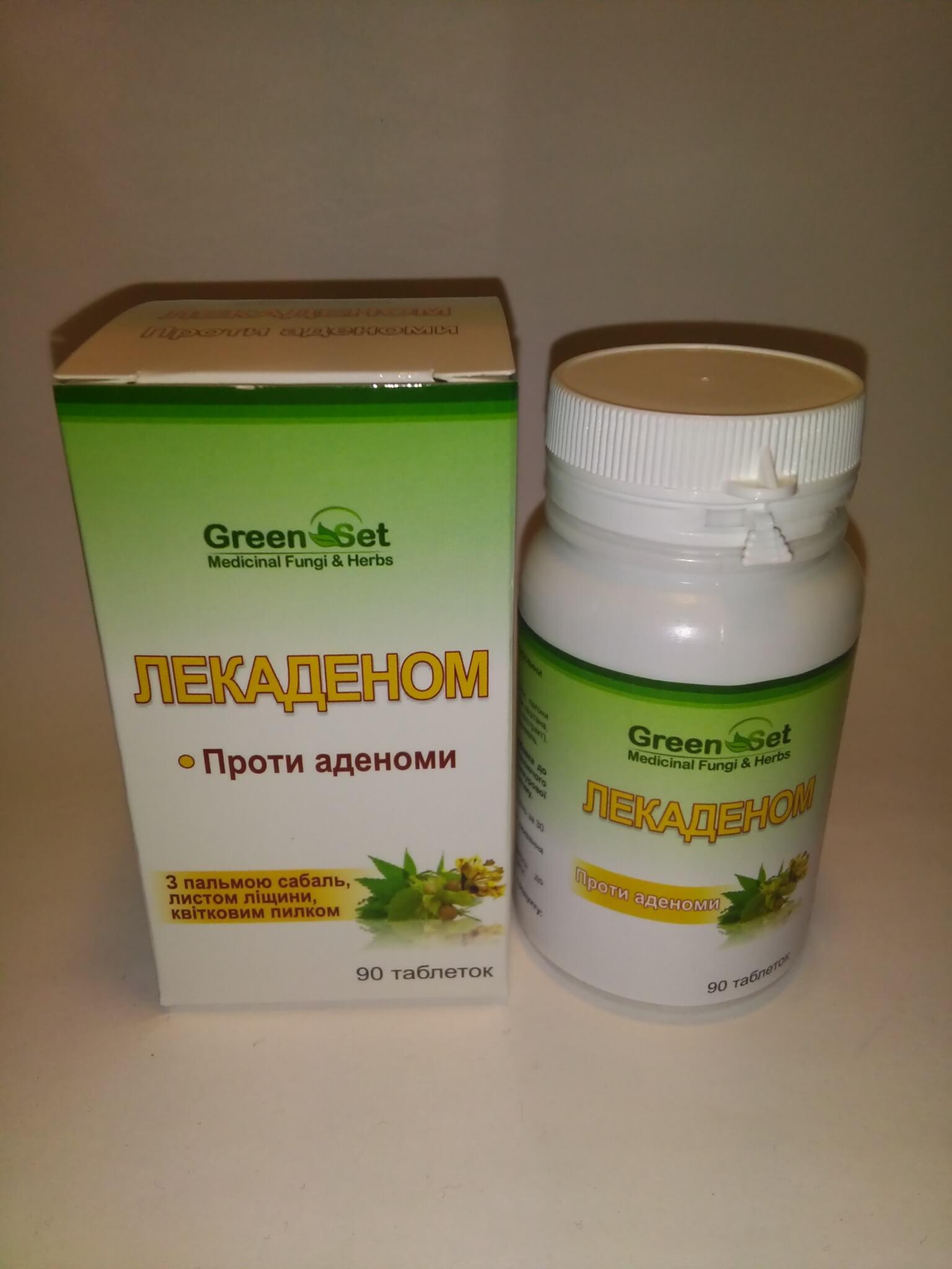 фитопрепарат Лекаденом против аденомы. Растительные таблетки направленные при терапии начальной стадии развития аденомы.