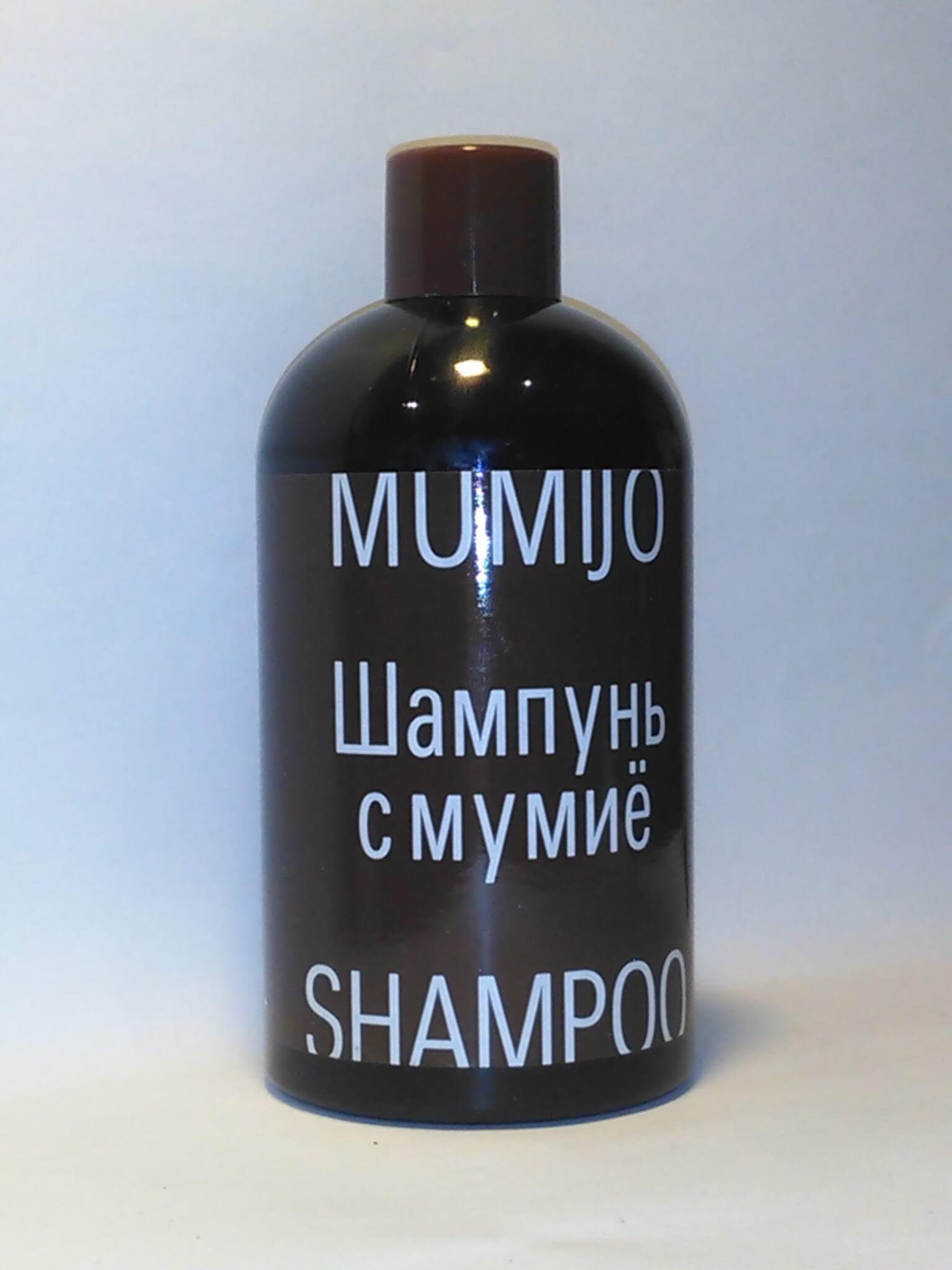 шампунь с мумие и пантенолом для увлажения волос, укрепления кожи головы, против выпадения волос в уходе за волосами