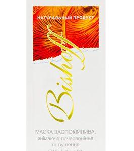 маска успокаивающую снимающее шелушение и покраснение лица с маслом макадамии, орхидеи на основе минерала бишофит и экстракта шиитаке