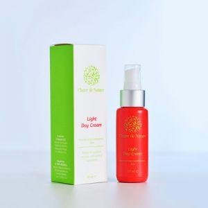 натуральный легкий дневной крем для нормальной кожи TM Clair фитоаптека украина на основе экстракта араганова дерева