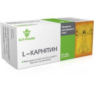 L-карнитин в капсулах как источник энергии в спортивном питании и программах снижения веса