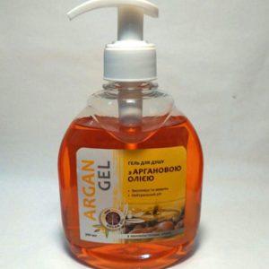 гель для душа с аргановым маслом для мягкого очищения кожи и ее увлажнения
