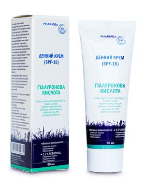 дневной крем для лица гиалуроновая кислота TM Pharmea для поддержания и увлажнения кожи лица