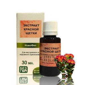 трава красная щетка при эндокринных заболеваниях, гинекологии, как природный гормон