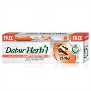 Покупаете натуральную индийскую зубную пасту dabur гвоздика аюрведа в комплексном уходе за зубами и деснами