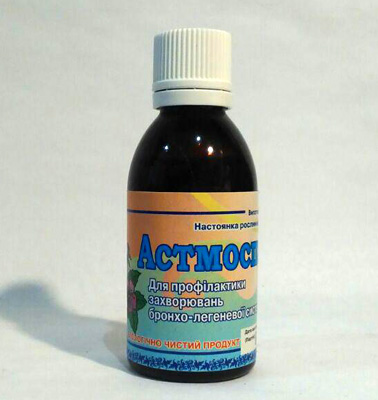 настойка из лек.растений астмоспазм для профилактики бронхо-легочных заболеваний