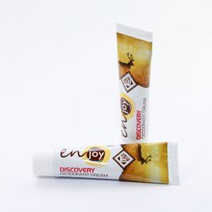 Покупаете эко Крем-Дезодорант Enjoy Discovery. Устранение запаха пота без закупоривания потовых желез. Дезодорант не содержит спирта, алюминия и свинца