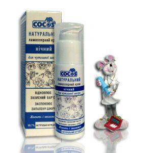 амеллярный крем ночной для чувствительной кожи восстанавливает защитный барьер кожи; успокаивает воспаленную кожу; питает и увлажняет