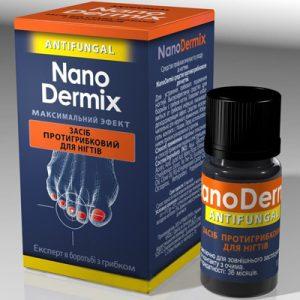 противогрибковое действие для ногтей NanoDermix на основе октопирокс