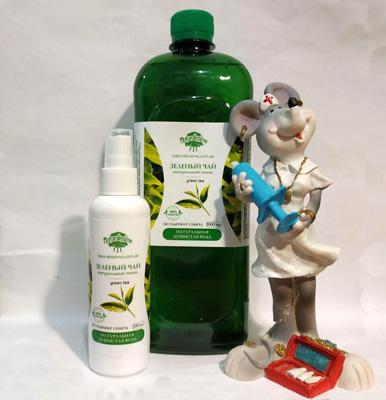 гидролат зеленый чай - цветочная вода для ухода все типы кожи , улучшая состояние тонуса кожи, снимая отеки , улучшая циркуляцию крови
