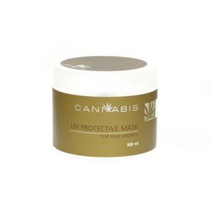 эффективная маска для восстановления слабого и ломкого волоса с экстрактом каннабиса