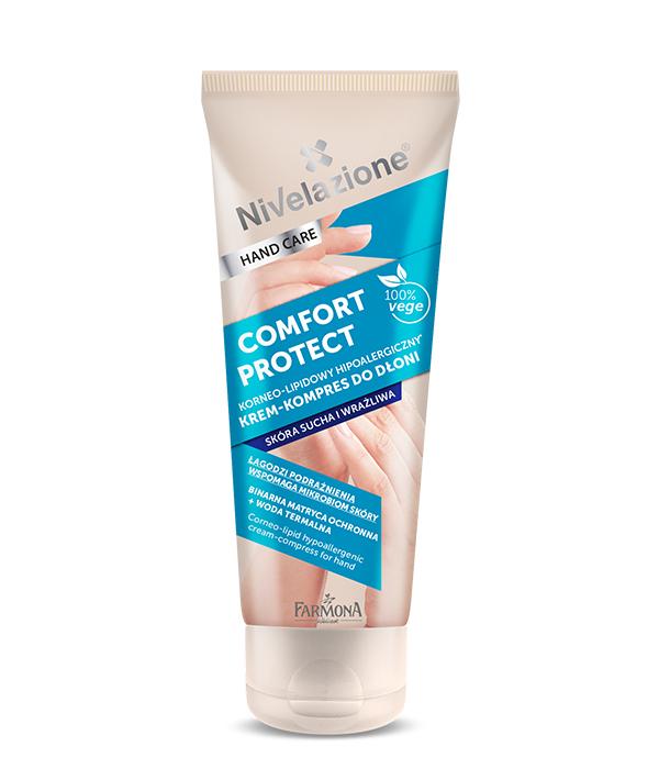 крем компресс для рук с формулой гидролипидов кожи рук и пробиотиками для восстановления аллергенной сухой кожи