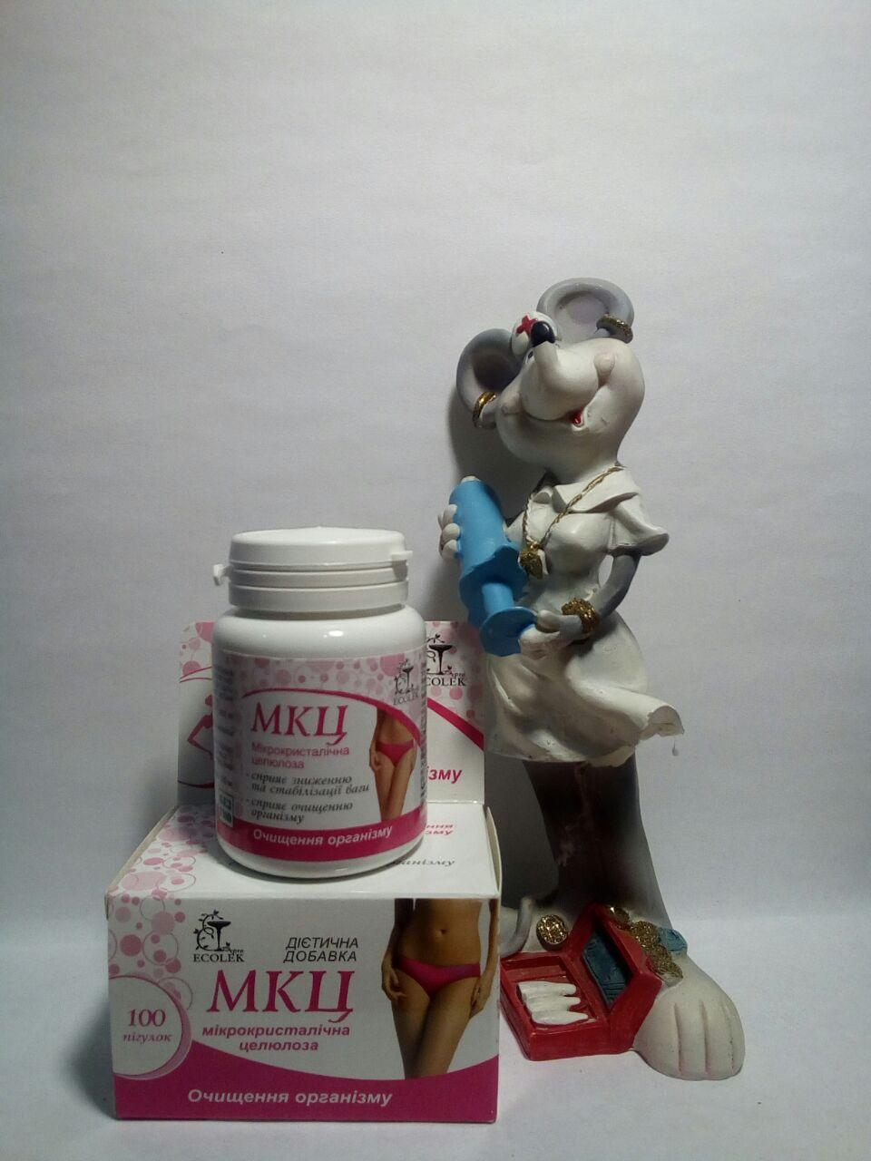 БАД МКЦ Диет - микрокристаллическую целлюлозу как диетическую добавку для контроля веса и очищения кишечника
