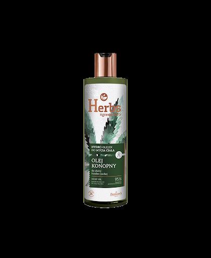 Гель для душа Конопляный для очень сухой кожи с полиненасыщенными жирными кислотами омега
