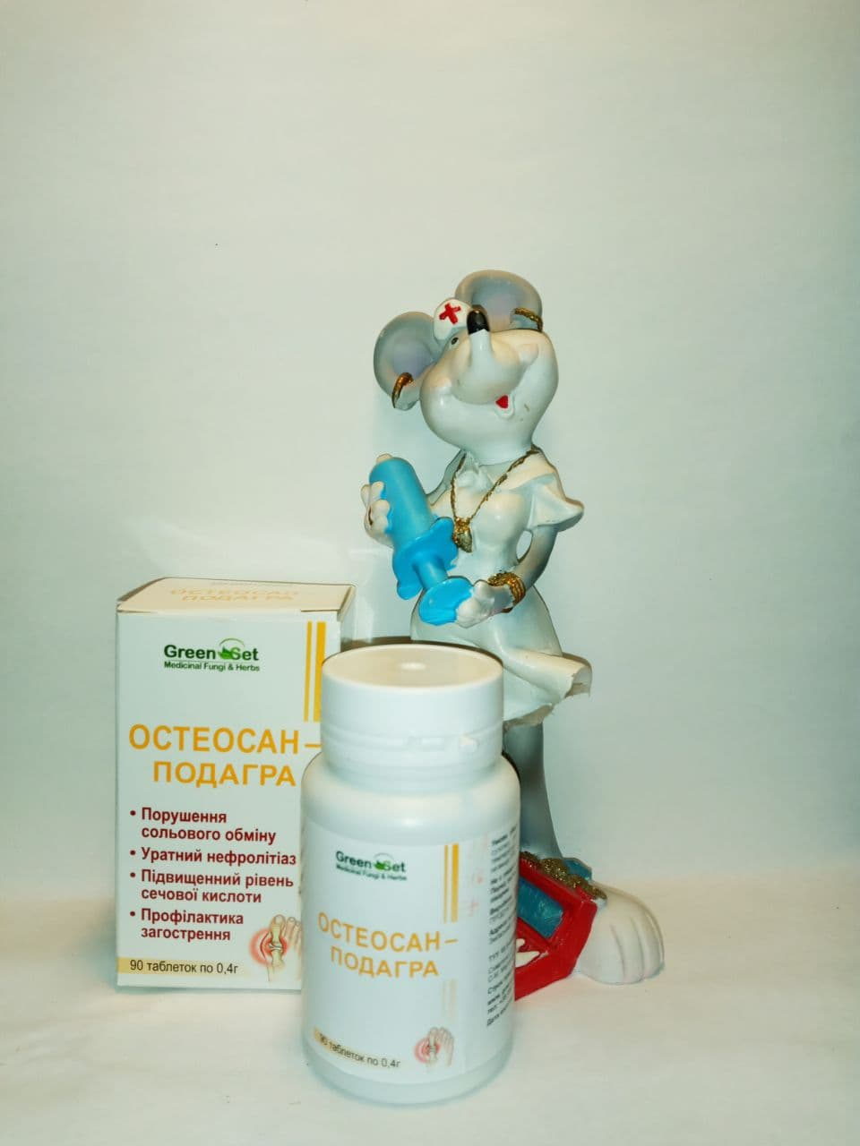 Остеосан-Подагра при нарушении водно-солевого обмена, при подагре, ревматоидном артрите, нарушении жирового обмена, почечно-каменной болезни, ожирении