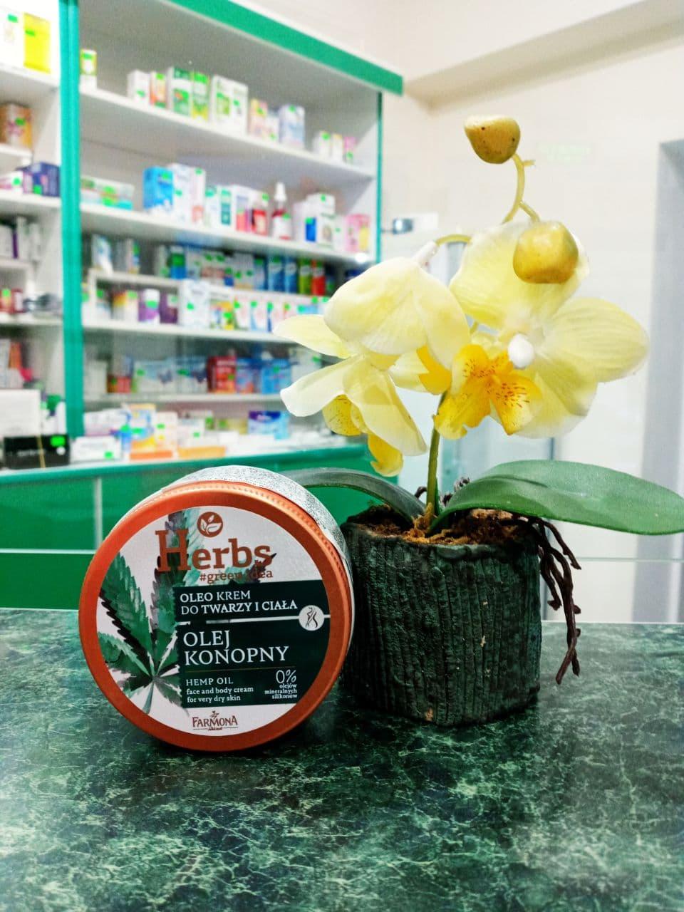 Покупаете крем для сухой кожи лица и тела на базе конопляного масла , карите от польской Фармоны