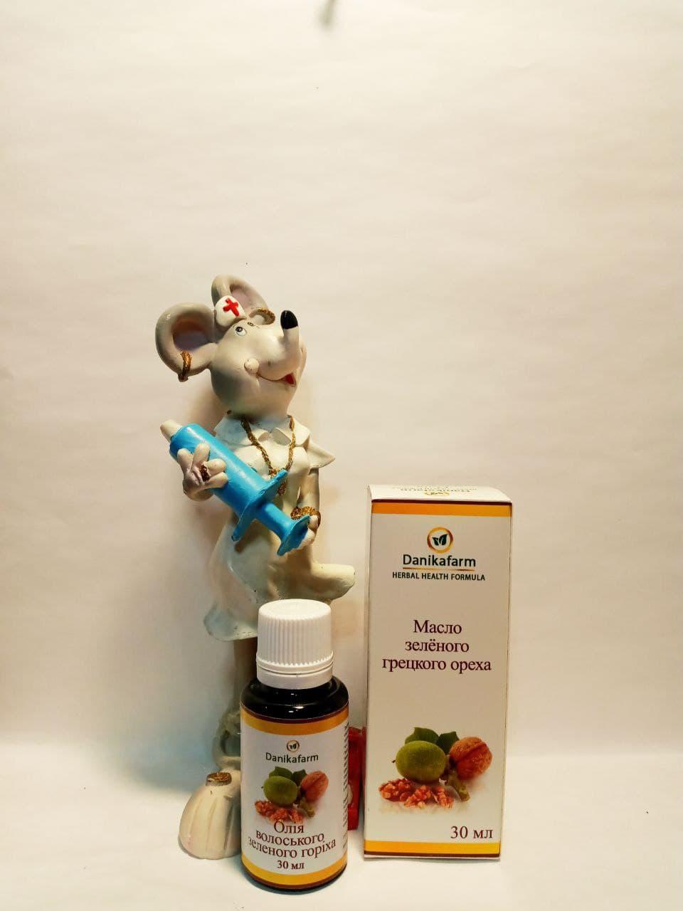 масло зеленого грецкого ореха как мощное природное средство для организма при заболеваниях щитовидной железы, гормоноподобных опухолей, против паразитов