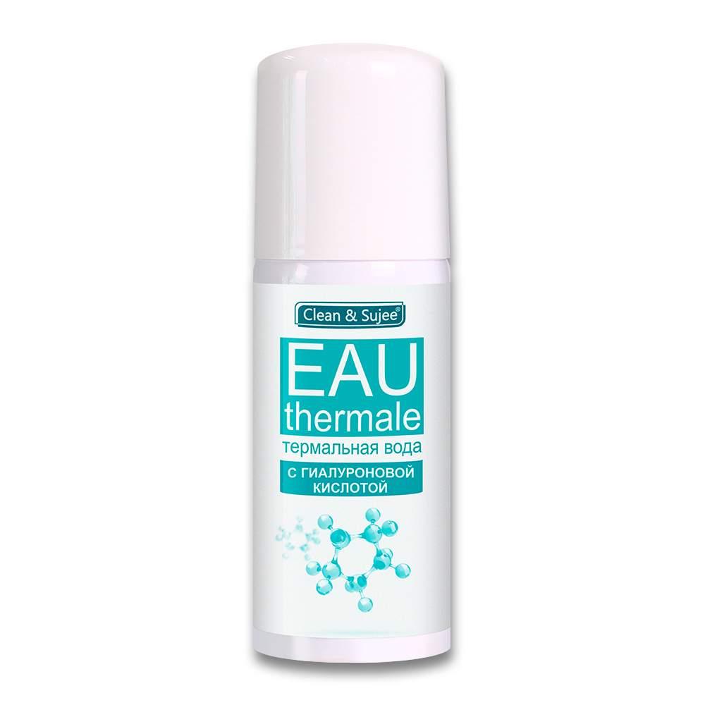 косметический спрей с темальной водой и гиалуроновой кислотой для увлажнения кожи