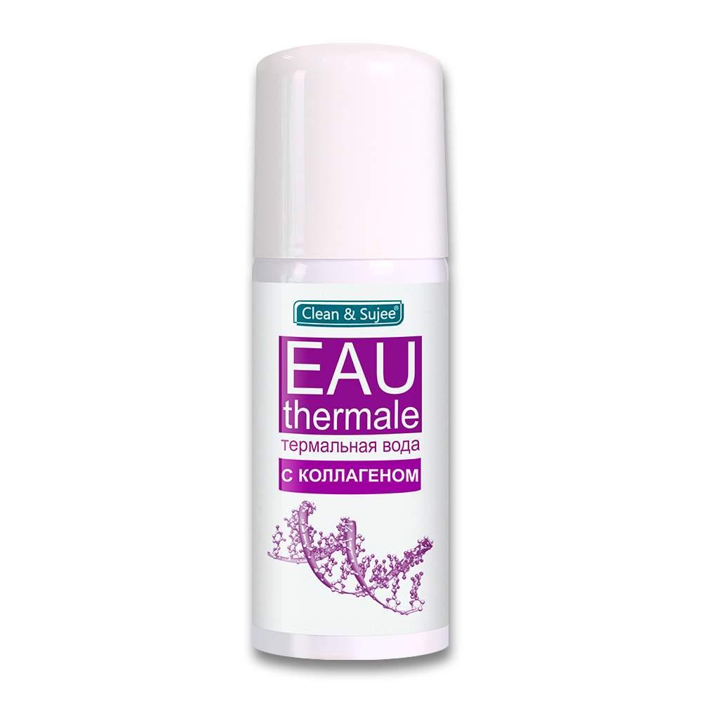 косметический спрей термальная вода с коллагеном для увлажнения кожи